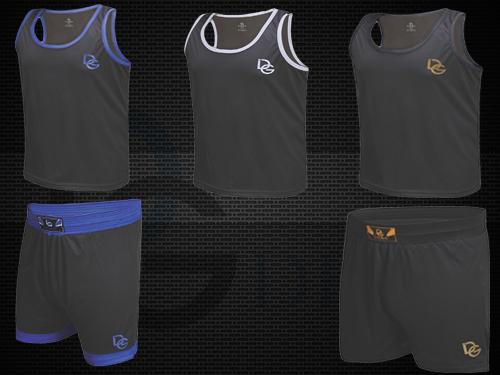 MMA Shorts und Tshirt Banner